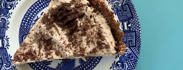 Chocolate and Almond Butter Tart (Vegan, Gluten-Free) image