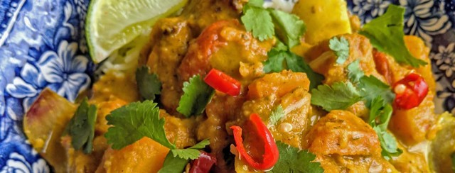 Chicken Curry Traybake