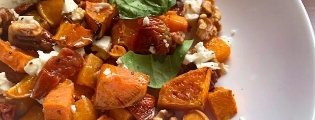 Warm Butternut Squash and Sweet Potato Salad image