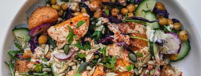 The Creamiest, Most Versatile, Endo-Friendly Salad Dressing image