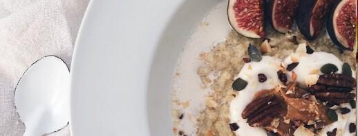 Coconut Whole Grain Porridge for Healthy Ovulation image