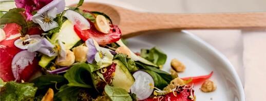 Summery Strawberry and Quinoa Salad image